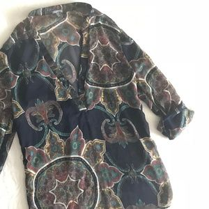 Charlotte Russe | Paisley Blouse